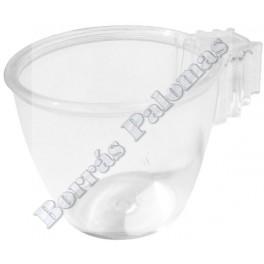 Taza ovalada para huevos 4,5 x 3,5 cm.